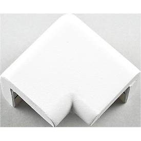 Schutzecke für Knuffi Eckschutzprofil Typ H, L 42 x B 22 mm, selbstklebend, PU-Schaum, 2-schenkelig, weiß
