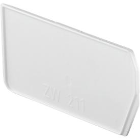 Separador, longitudinal, para caja con abertura frontal LF 211, 10 unidades