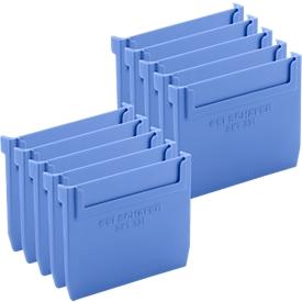Separador para caja de estantería RK 321, 10 unidades