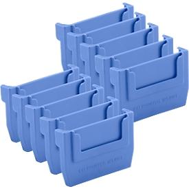 Separador para caja de estantería RK 400S, 10 unidades