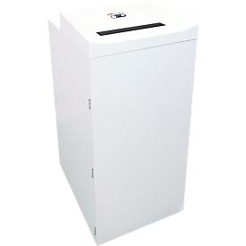 Shredder HSM Pure 740 max, deeltjes gesneden 4,5 x 30 mm, P-4, 240 l, 20-22 vellen snijcapaciteit, incl. 5 x opvangzakken