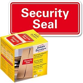Sicherheitsetiketten Avery Zweckform Security Seal, rechteckig, 38 x 20 mm, 200 St.