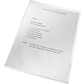 Sichthülle re:cycle, A4, 0,13 mm starke, recycelbare PP-Folie, 100 Stück