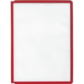 Sichttafeln A4, 5 Stück, rot