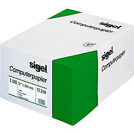 sigel® EDV Computerpapier, DIN A4, 1fach, blanko, 60 g/m²