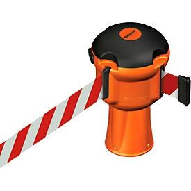Sistema de barrera Skipper, cinta de barrera roja y blanca