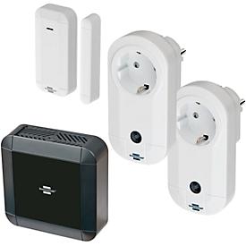 Smart home schakelaar Brennenstuhl BrematicPRO, smart home, deur-/raamsensor + 2 schakeladapters