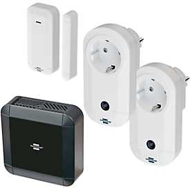 Smart Home Schalter Brennenstuhl BrematicPRO, Smart Home, Tür-/Fensterkontakt + 2 Schaltadapter