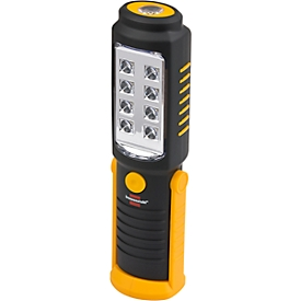 SMD LED-handlamp Brennenstuhl HL DB 81 M1H1, met magneet, haak draaibaar, IP 20, 250 lm