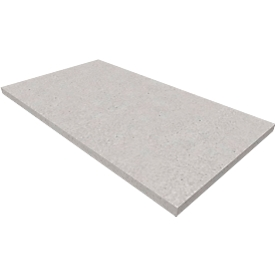 Sockel SOLUS PLAY, f. Flügeltüren-/Schränke SOLUS PLAY, B 800 x T 400 x H 35 mm, Ceramic grey