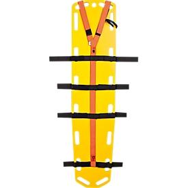 SÖHNGEN Gurtsystem für Spine-Board, verstellbare Klettgurte zur Körperfixierung