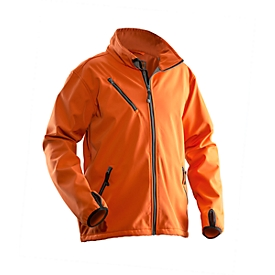 Softshell Jacke Jobman 1201 PRACTICAL, orange, Polyester I Elastan, L