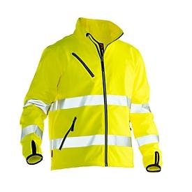 Softshell-jas Jobman 1202 PRACTICAL, Hi-Vis, EN ISO 20471 klasse 3, geel, polyester, S