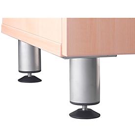 Sokkelpoten voor sideboard TARA, 4 poten/1 set