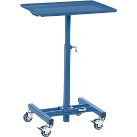 Soporte de material, móvil, manual, ajuste de altura 720-995 mm