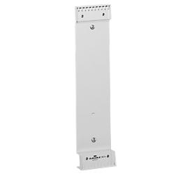 Soporte metálico de pared (sin paneles) de DURABLE para 10 tablas