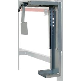 Soporte para PC Hüdig+Rocholz System Flex, ajustable de manera individual, para automontaje