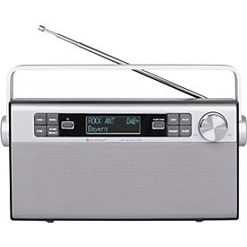 Soundmaster Radio DAB650SI, DAB+ Digitalradio, UKW, mit eingebautem Akku