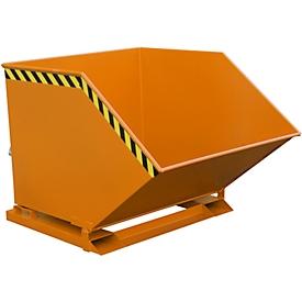 Späne-Kippmulde SKK 1000, orange