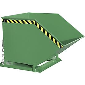 Späne-Kippmulde SKK 800, grün