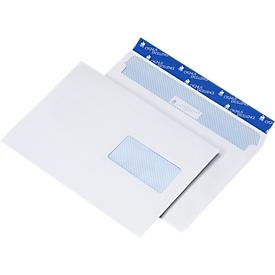 Sparset Briefumschläge, DIN C5, haftklebend, mit Fenster rechts, 500 Stück