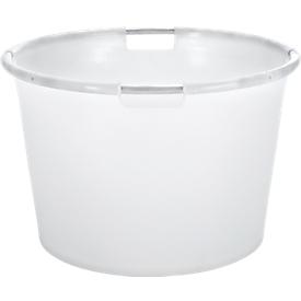 Speciale container, met aluminium frame, rond, 80 l