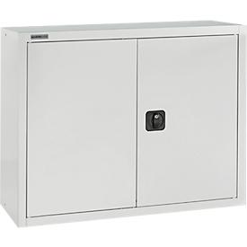 SSI Schäfer Aufsatzschrank, abschließbar, Höhe 800 mm, Breite 800 mm, lichtgrau