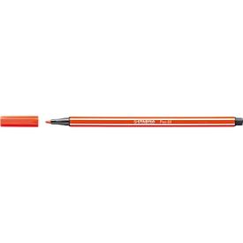 STABILO® Fasermaler Pen 68, rot, 10 Stück
