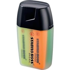 STABILO® Textmarker BOSS Original, 4er-Box