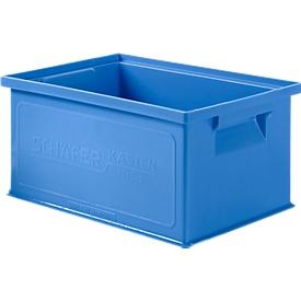 Stapelbak 14/6-3, kunststof, 7 l, blauw