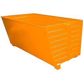 Stapelbare kiepbak BSK 200, oranje
