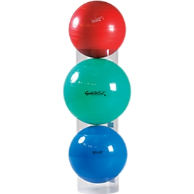Stapelhulp voor fitnessballen, doorzichtig, voor ballen van 55 tot 120 cm, set van 3