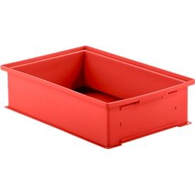 Stapelkasten 14/6-2 H, 16 Stück, 12 l, rot