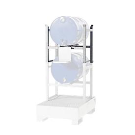 Stapelrek, voor lekbak type WGB 22, 1 x 200 l vat