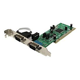 StarTech.com 2 Port Serielle RS422/485 PCI Schnittstellenkarte mit 161050 UART - Serieller Adapter - PCI-X - RS-422/485 x 2