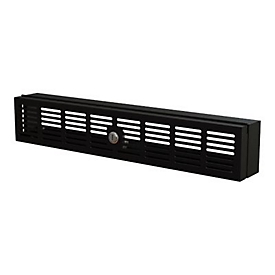 StarTech.com 2U Rack Mount Security Cover, Hinged Locking Rack Panel/ Cage/Door for Physical Security/ Access Control of 19