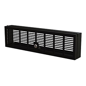 StarTech.com 3U Rack Mount Security Cover, Hinged Locking Rack Panel/ Cage/Door for Physical Security/ Access Control of 19