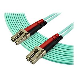 StarTech.com 7m OM3 LC to LC Multimode Duplex Fiber Optic Patch Cable - Aqua - 50/125 - LSZH Fiber Optic Cable - 10Gb (A50FBLCLC7) - Patch-Kabel - 7 m - Aquamarin