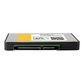 StarTech.com Dual M.2 SATA Adapter mit RAID - 2x M.2 SSD auf 2,5 SATA (6Gbit/s) RAID Adapter / Konverter mit TRIM Unterstützung - Speichercontroller (RAID) - M.2 Card - SATA 6Gb/s