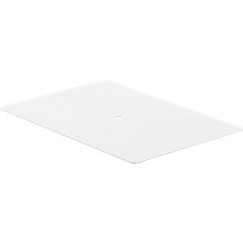 Staubdeckel für Stapelkasten 14/6-2, 2Z, 2H, Kunststoff