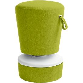 Steh-/Sitzhocker NICK, höhenverstellbar 570 - 900 mm, hellgrün