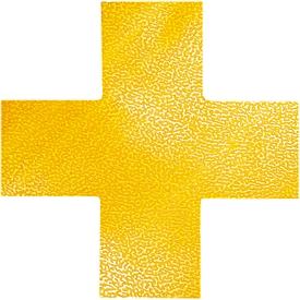 Stellplatz-Markierung Durable, selbstklebend in Kreuz-Form, für Böden, 10 Stück