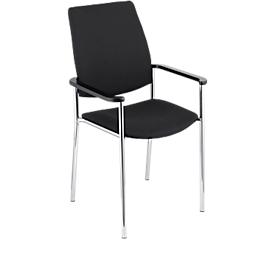 Stuhl Zen, schwarz/schwarz