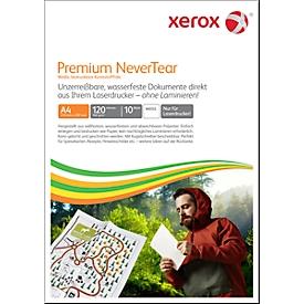 Synthetikpapier Xerox Premium NeverTear, DIN A4, 120 µm, weiß matt, 1 Paket = 10 Blatt