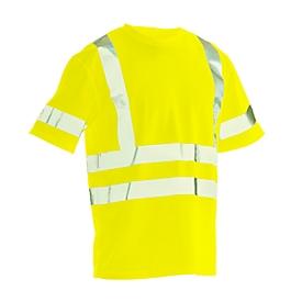 T-shirt Jobman 5582 PRACTICAL Spun Dye Hi-Vis, EN ISO 20471 klasse 2/3, PBM 2, geel, maat XS