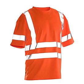 T-Shirt Jobman 5591 PRACTICAL Hi-Vis, 6 Reflektonsstreifen, EN ISO 20471 Klasse 2/3, PSA 2, orange, Größe M