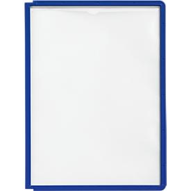 Tableros de exposición A4, 5 piezas, azul oscuro