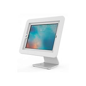 Tabletstandaard Compulocks Executive 360, horizontale montage, 360° draaibaar, 180° kantelbaar, aluminium, wit