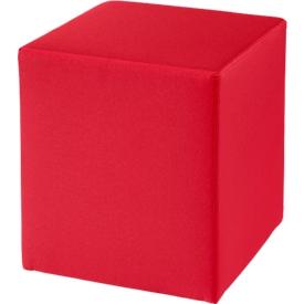 Taburete Wall In, An 410 x P 410mm, rojo