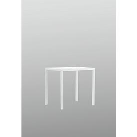Tafel Newtown, B 800 x D 600 x H 750 mm, wit
